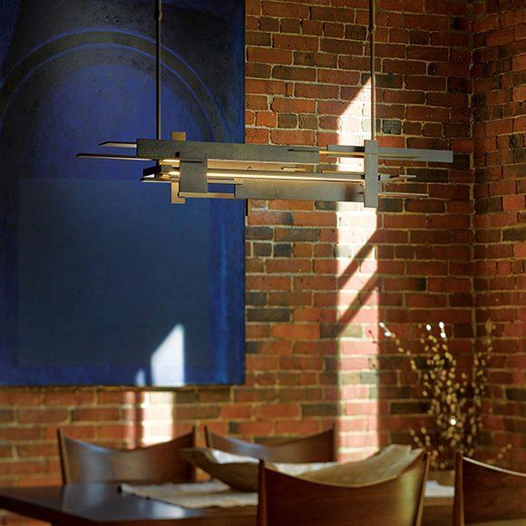 Planar suspension LED