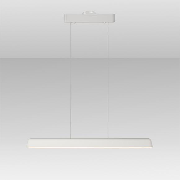 Enso suspension linéaire blanche DEL