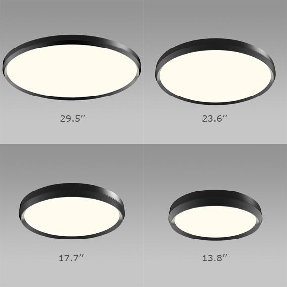 skylight plafonnier del fini noir dimensions