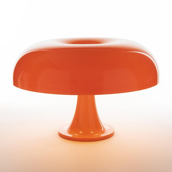 Nesso lampe de table orange