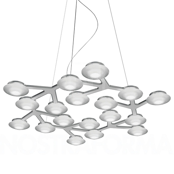 Led Net Circle Suspension Artemide