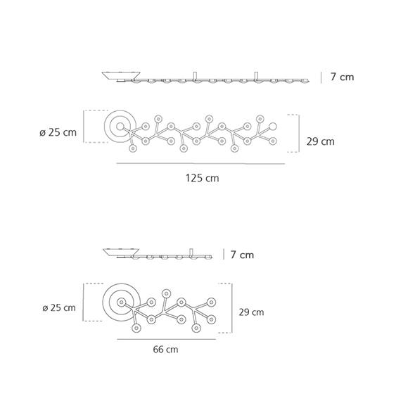 Led Net Artemide Spec Plafonnier