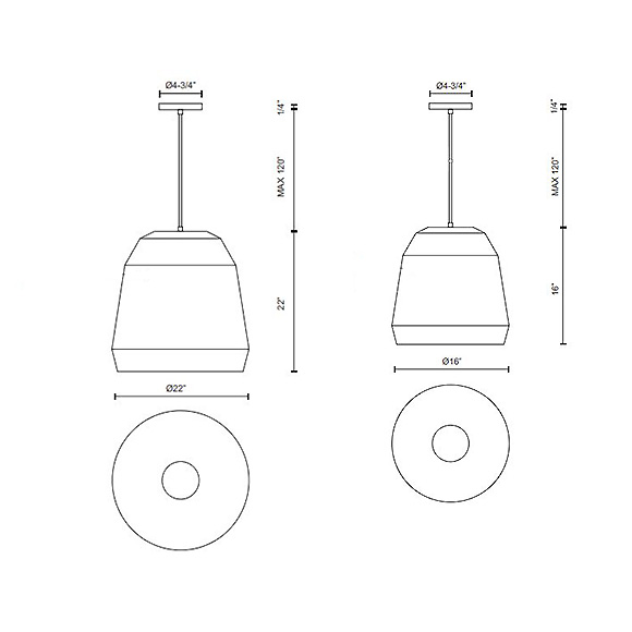 Sedona luminaire suspendu, massif et imposant aux proportions justes, ce luminaire est proposé en deux tailles et 4 finis, blanc, noir, bleu, gris.